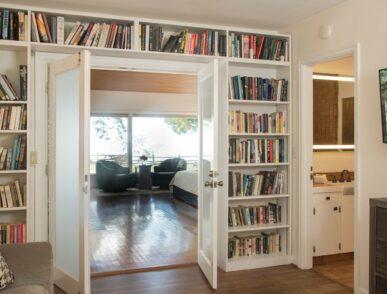 Hoh library shelves