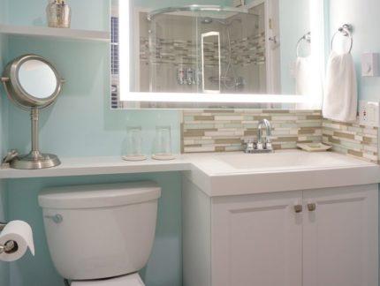 Lake Crescent bathroom vanity
