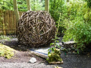 Garden Ball Sculpture