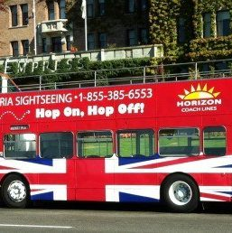 Hop on Bus for Victoria Sightseeing