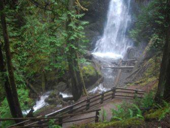 Marymere Falls at Lake Crescent
