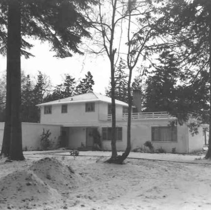 historical view of home in snow