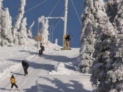 Skiing at Hurricane Ridge
