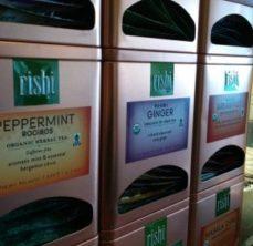 Organic RISHI teas